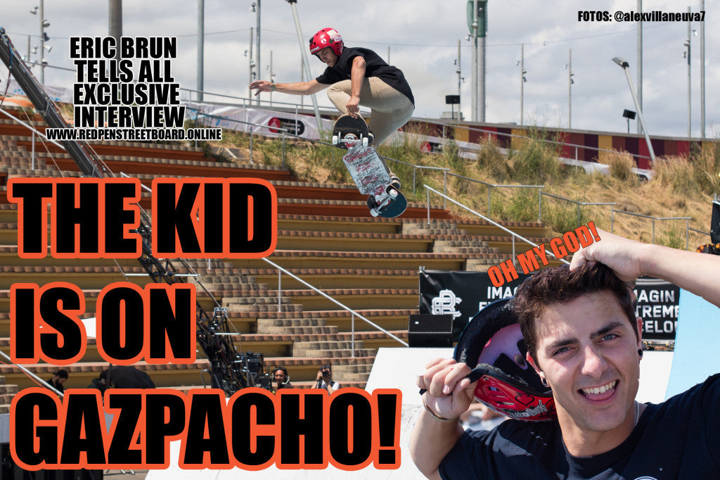 Eric Brun now on Gazpacho Boards