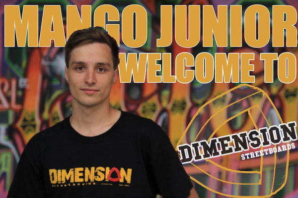 "Mario ""Mango Junior"" Kurrle joins Dimension"