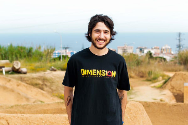 Dimension T-Shirt Yellow Logo