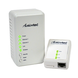 500 Mbps Powerline Home Network Adapter & Wireless Extender