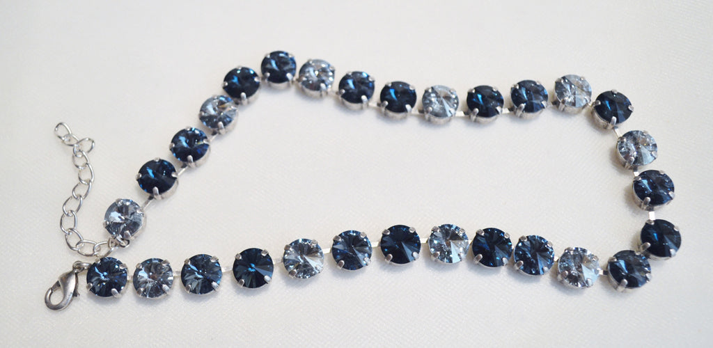 Swarovski Crystal Necklace Jewelry by Annicella Affordable ...