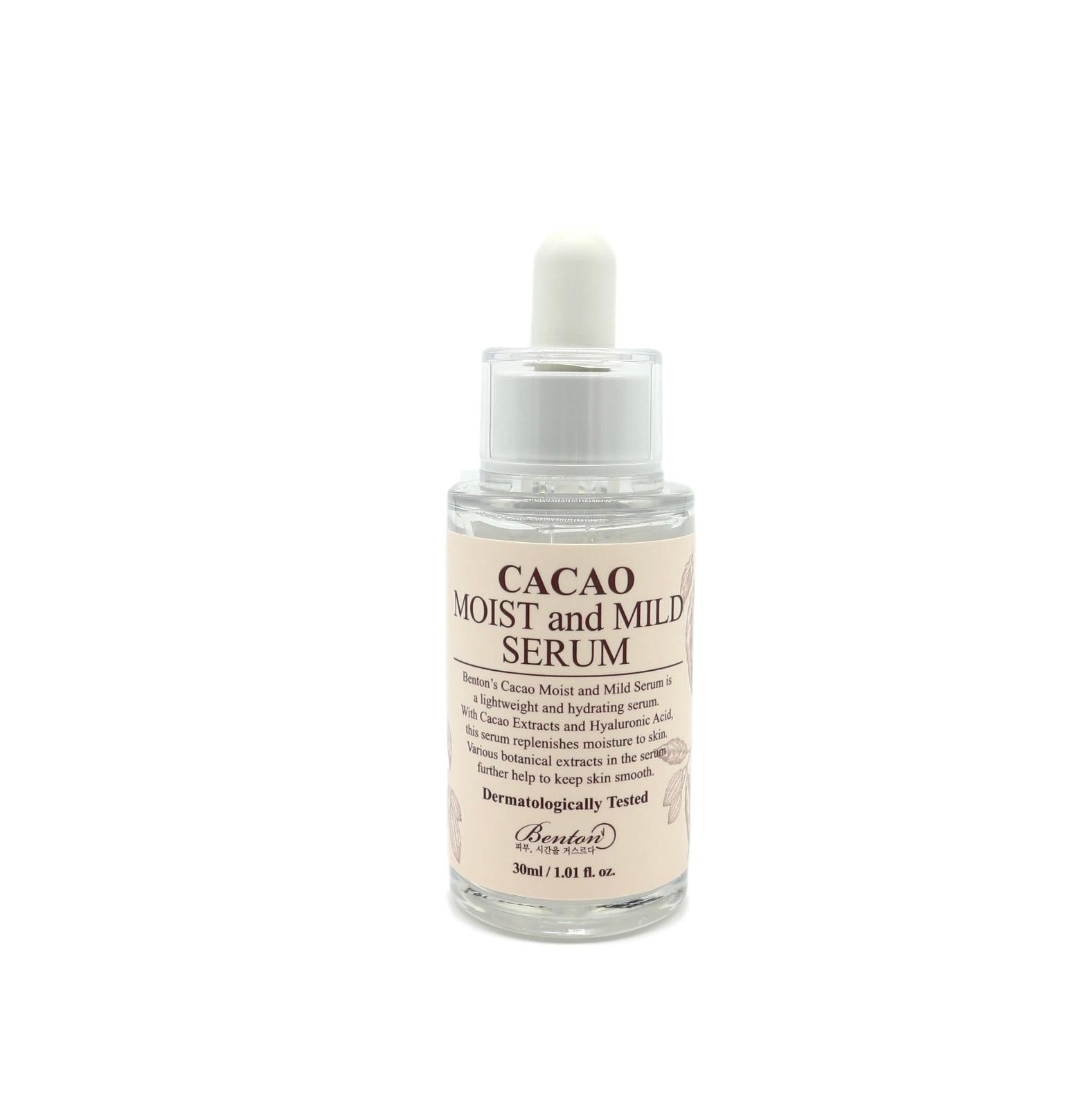 Cacao Moist and Mild Serum | Siero Idratante al Cacao