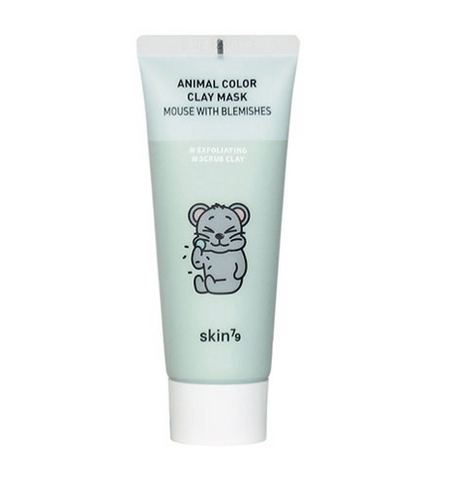Animal Color Clay Mask Mouse with Blemishes | Maschera Purificante con Argilla