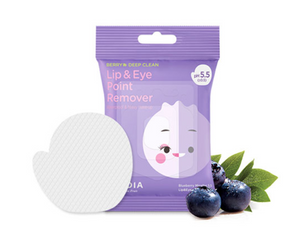 Blueberry Micellar 5.5 Lip & Eye Remover Pad | Salviettine Struccanti con Mirtilli