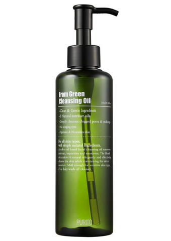 From Green Cleansing Oil | Olio Detergente Delicato