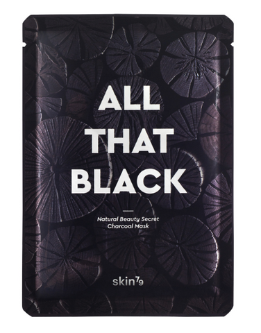 All That Black Mask | Maschera Purificante e Illuminante