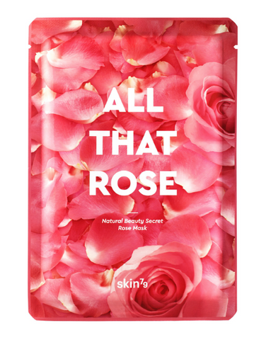 All That Rose Mask | Maschera Rimpolpante e Idratante
