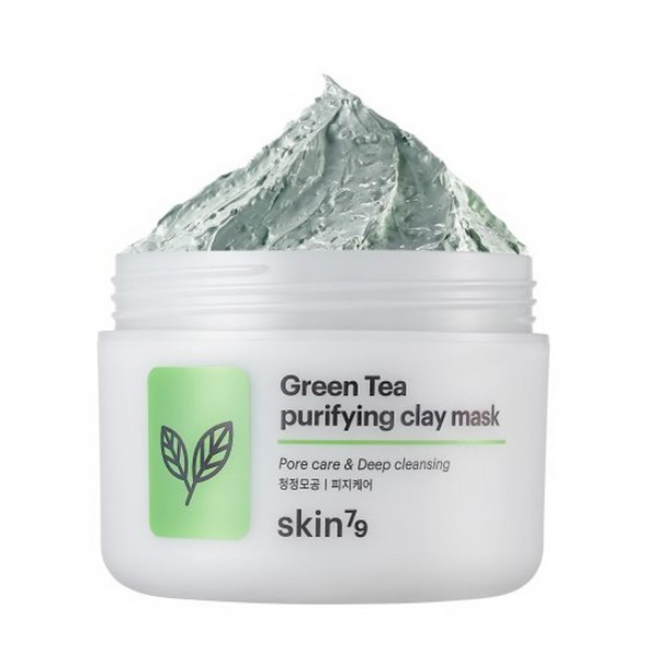 Green Tea Purifying Clay Mask | Maschera Purificante all'Argilla e Tè Verde