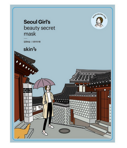 Seoul Girl's Beauty Secret Mask Moisturizing Care | Maschera Idratante