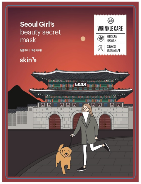 Seoul Girl's Beauty Secret Mask Wrinkle Care | Maschera Anti Age