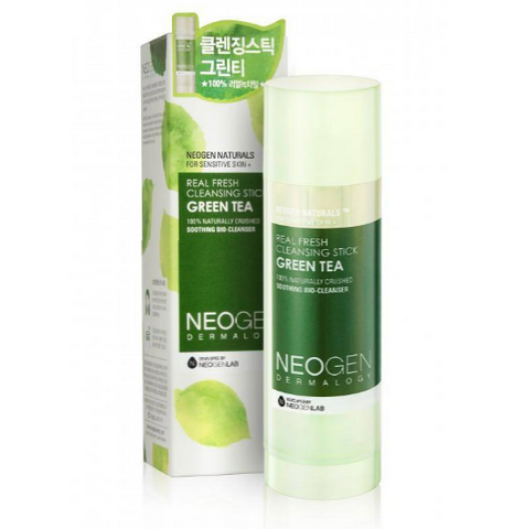 Real Fresh Cleansing Stick Green Tea | Detergente in Stick al Tè Verde