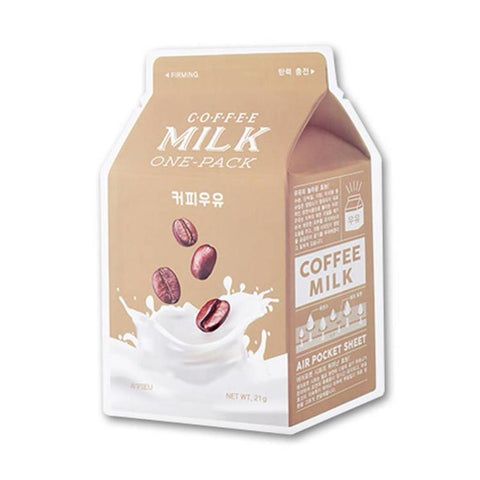 Coffee Milk One Pack Mask | Maschera al Latte e Caffè