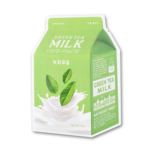Green Tea Milk One Pack Mask | Maschera al Latte e Tè Verde