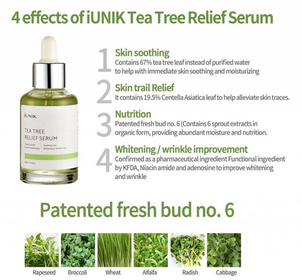 Tea Tree Relief Serum | Siero con Tea Tree