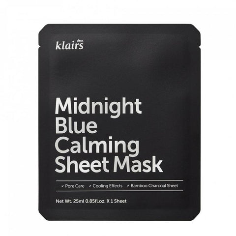 Midnight Blue Calming Sheet Mask | Maschera Calmante alla Centella Asiatica