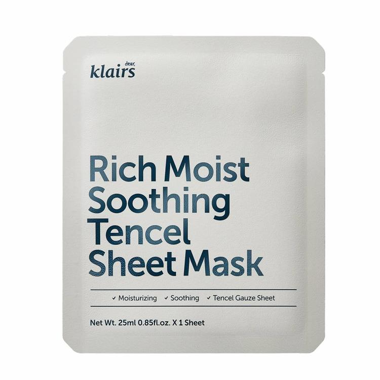 Rich Moist Soothing Tencel Sheet Mask | Maschera Lenitiva Idratante