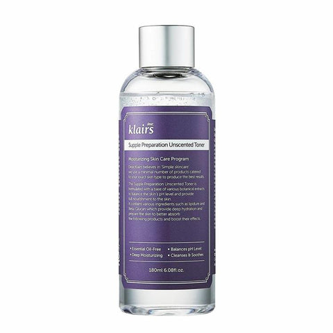 Supple Preparation Unscented Facial Toner | Tonico Idratante senza Fragranza