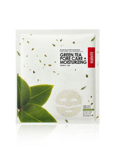 Natural Gift Green Tea Pore Care Sheet Mask | Maschera Astringente al Tè Verde