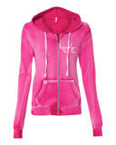 Womens Sanded Full-Zip - Love