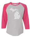 Ladies Petoskey Baseball Tee