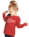 Enjoy Michigan Toddler Sweatshirt