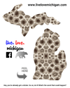 Petoskey Stone Decal