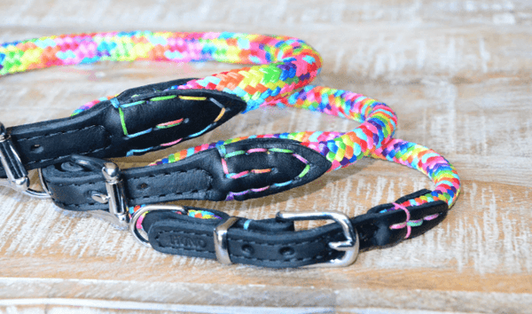 BALDY Rope with Leather Rainbow