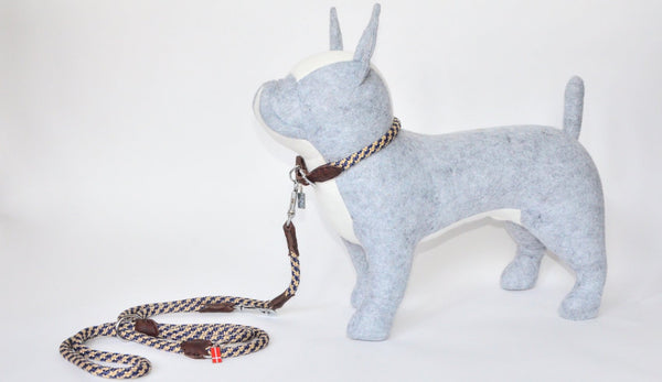 6 in one Rope/Leather Leash