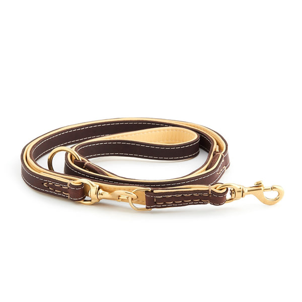 FIRE CRACKER Flat Duo Colored- 5 leashes in one - HUND Denmark for the Love of Pets, People, and Planet