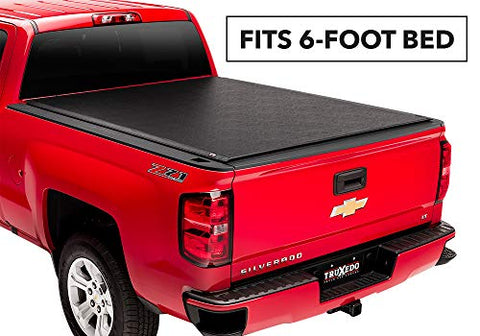Truxedo Lo Pro Soft Roll-Up Truck Bed Tonneau Cover | 543101 | Fits 96-01 Isuzu N/A Black 834418008064