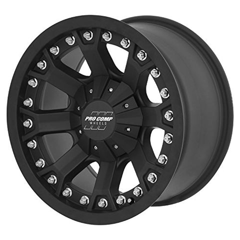 "Pro Comp Alloys Series 33 Wheel With Flat Black Finish (20X9""/6X135mm) 20 Inches X 9 Inches Flat Black 844658018167"
