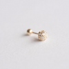 Custom Listing_14K Solid Yellow Gold Ball Barbell Cartilage_PG005
