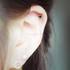 Triangle Cartilage Piercing_P023