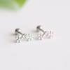 Mint Pink Flower Cartilage_P088