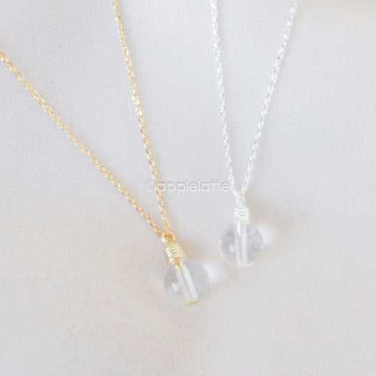 Light Bulb Necklace