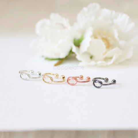 love knot  knuckle ring,love knot ring,infinity knot ring, memory eternity ring, bridesmaid ring, tie the knot