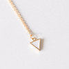 Pastel Triangle Necklace