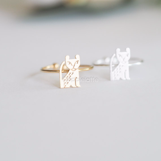 baby lion ring