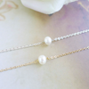 single pearl bracelet, Pearl Bracelet, freshwater pearl, Mothers wedding gift, bridesmaid gift