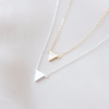 Point Down Triangle Necklace