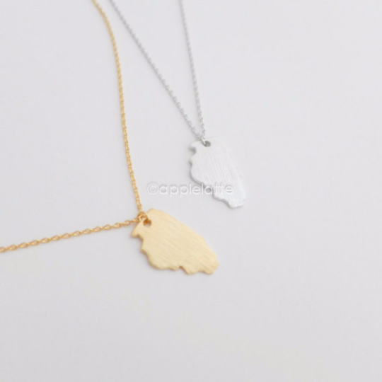 Illinois necklace