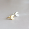 Crescent Moon ear cuff