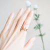 double line Butterfly Ring, Dainty Butterfly Ring, Butterfly Jewelry, Adjustable Ring, Bridesmaid Gift Ring