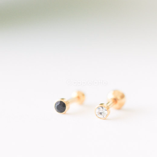 Stone Cartilage Earring_P118