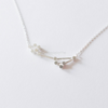 Pisces Zodiac Sign Necklace In Sterling Silver 925,The Fishes Necklace