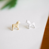 horse earrings,horse jewelry,gold horse earrings,silver horse earrings