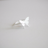 Elegant Butterfly Ring, Dainty Butterfly Ring, Butterfly Jewelry, Adjustable Ring, Bridesmaid Gift Ring