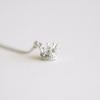 CZ Crown Necklace