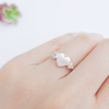 arrow heart ring