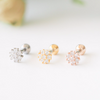 Shiny Flower Tragus Piercing_P126